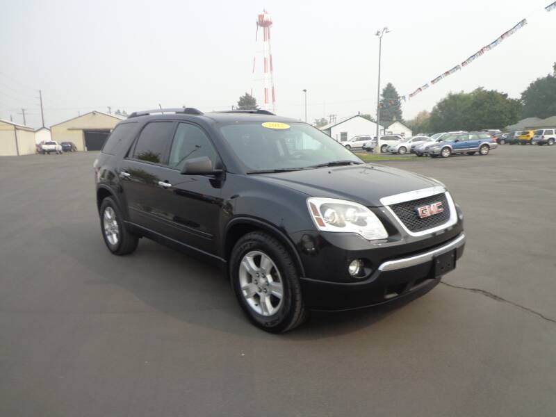 2012 GMC Acadia for sale at New Deal Used Cars in Spokane Valley WA