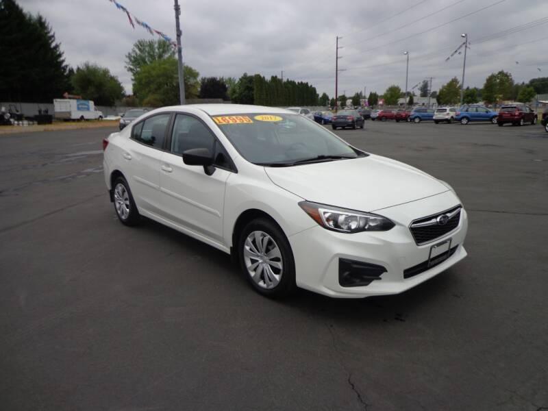 2017 Subaru Impreza for sale at New Deal Used Cars in Spokane Valley WA