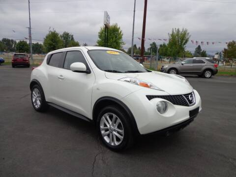 2013 Nissan JUKE for sale at New Deal Used Cars in Spokane Valley WA