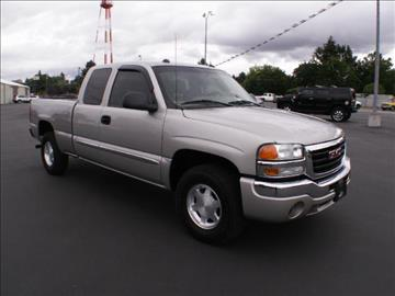 2004 GMC Sierra 1500 for sale at New Deal Used Cars in Spokane Valley WA
