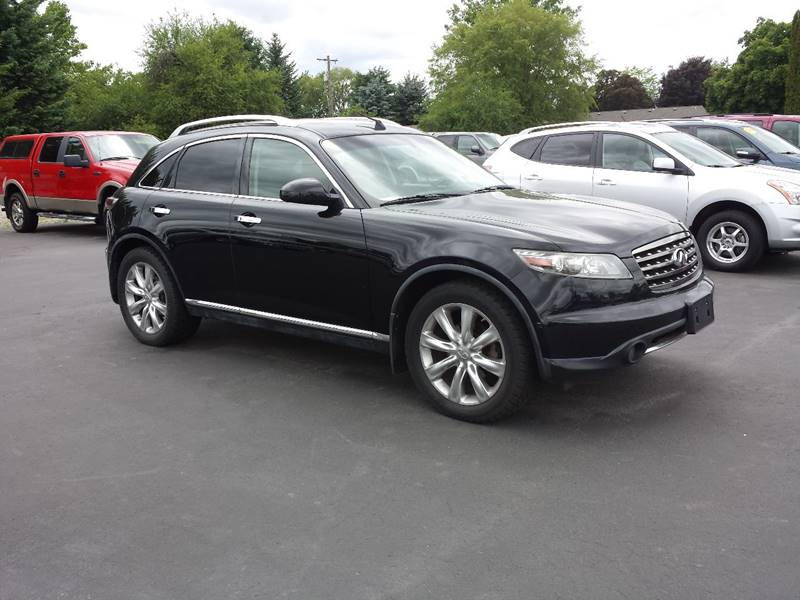 2006 Infiniti FX45 for sale at New Deal Used Cars in Spokane Valley WA
