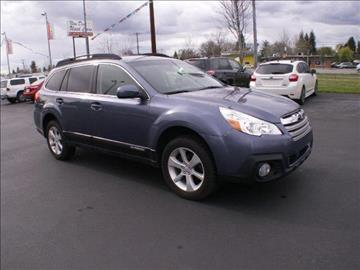 2013 Subaru Outback for sale at New Deal Used Cars in Spokane Valley WA