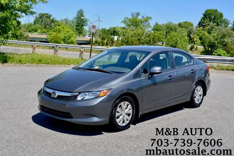 2012 Honda Civic for sale in Alexandria, VA