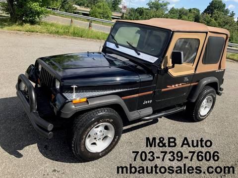 1995 Jeep Wrangler for sale in Alexandria, VA