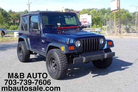 2006 Jeep Wrangler for sale at Mid Atlantic Truck Center in Alexandria VA