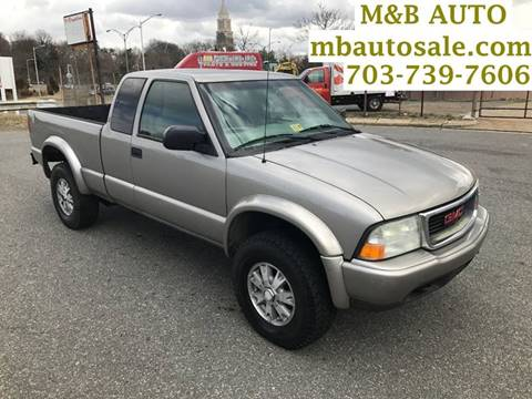 2002 GMC Sonoma for sale in Alexandria, VA