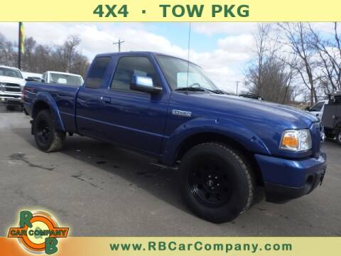 2011 Ford Ranger for sale at R & B CAR CO - R&B CAR COMPANY in Columbia City IN