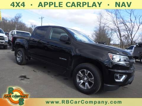 2016 Chevrolet Colorado for sale at R & B CAR CO - R&B CAR COMPANY in Columbia City IN