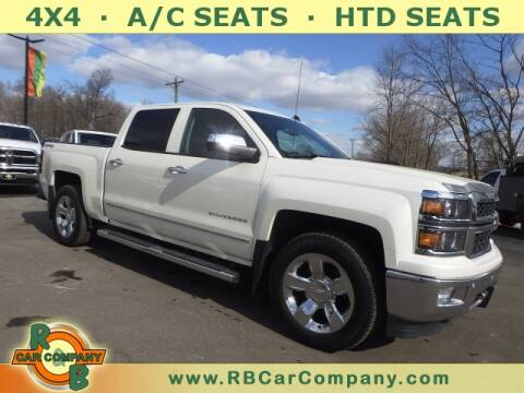 2014 Chevrolet Silverado 1500 for sale at R & B CAR CO - R&B CAR COMPANY in Columbia City IN