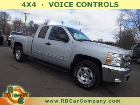 2013 Chevrolet Silverado 1500 LT for sale at R & B CAR CO - R&B CAR COMPANY in Columbia City IN