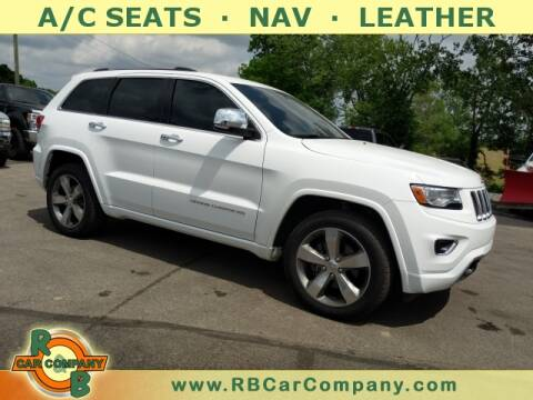 2016 Jeep Grand Cherokee for sale at R & B CAR CO - R&B CAR COMPANY in Columbia City IN