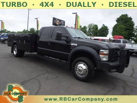 2008 Ford F-550 Super Duty for sale at R & B CAR CO - R&B CAR COMPANY in Columbia City IN