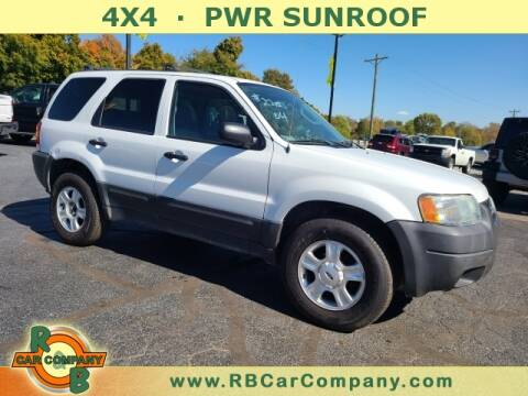 2004 Ford Escape for sale at R & B CAR CO - R&B CAR COMPANY in Columbia City IN