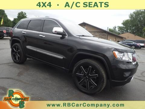 2012 Jeep Grand Cherokee for sale at R & B CAR CO - R&B CAR COMPANY in Columbia City IN