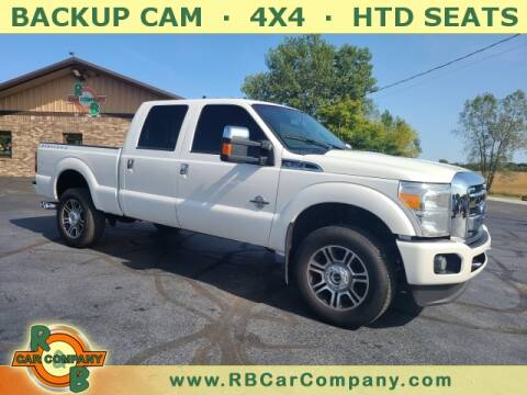 2016 Ford F-350 Super Duty for sale at R & B CAR CO - R&B CAR COMPANY in Columbia City IN