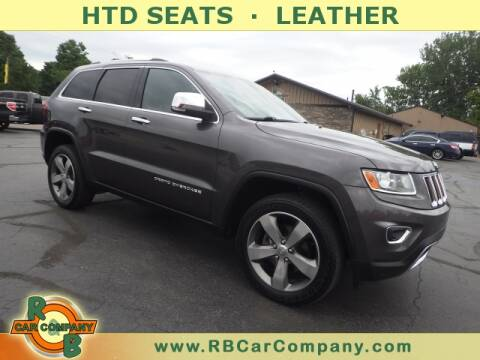 2015 Jeep Grand Cherokee for sale at R & B CAR CO - R&B CAR COMPANY in Columbia City IN