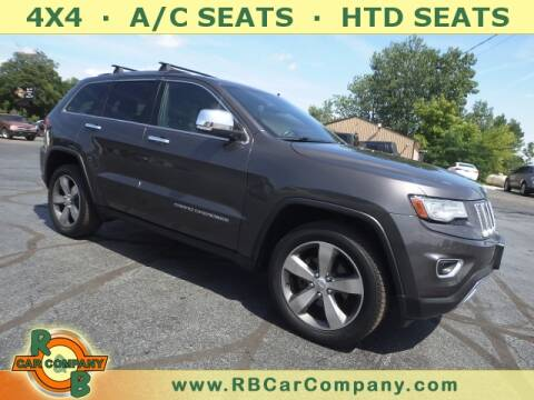 2014 Jeep Grand Cherokee for sale at R & B CAR CO - R&B CAR COMPANY in Columbia City IN
