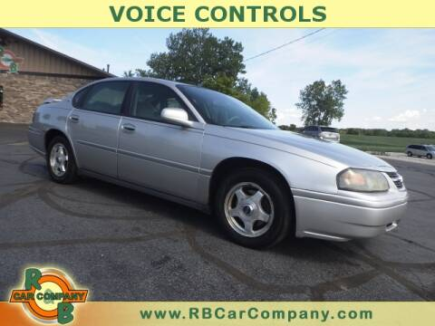 2005 Chevrolet Impala for sale at R & B CAR CO - R&B CAR COMPANY in Columbia City IN