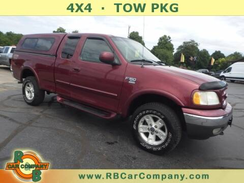 2003 Ford F-150 for sale at R & B CAR CO - R&B CAR COMPANY in Columbia City IN