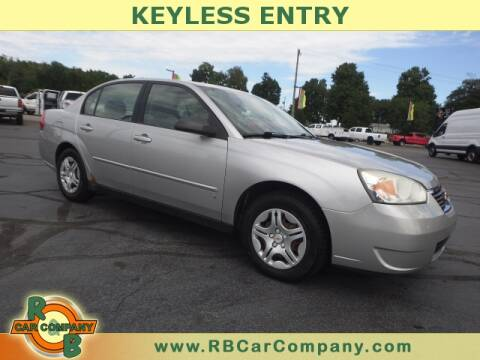 2006 Chevrolet Malibu for sale at R & B CAR CO - R&B CAR COMPANY in Columbia City IN