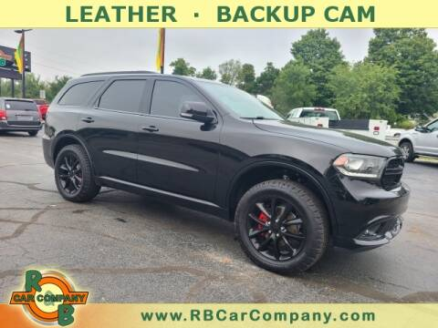 2017 Dodge Durango for sale at R & B CAR CO - R&B CAR COMPANY in Columbia City IN