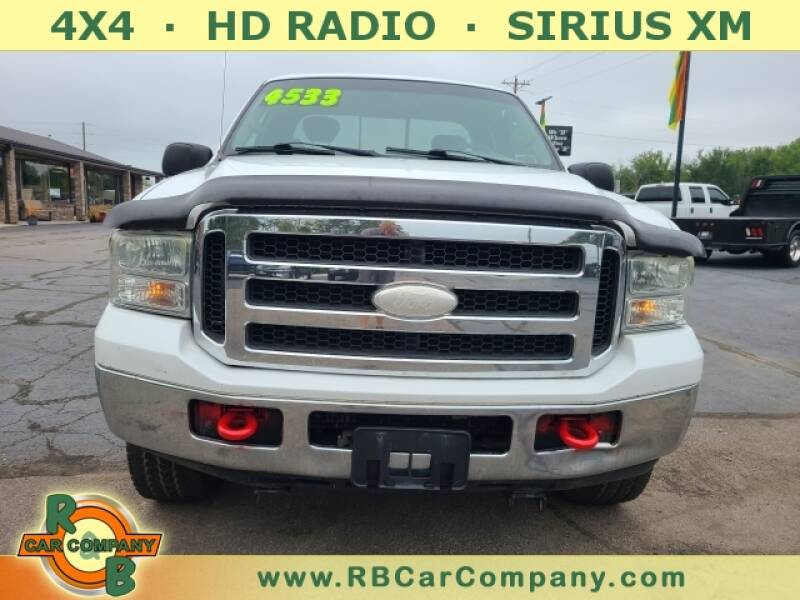 2005 Ford F-250 Super Duty for sale at R & B CAR CO - R&B CAR COMPANY in Columbia City IN