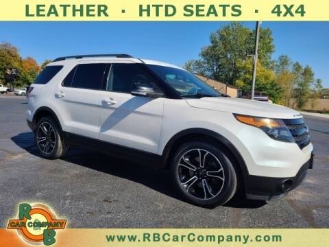 2015 Ford Explorer for sale at R & B CAR CO - R&B CAR COMPANY in Columbia City IN