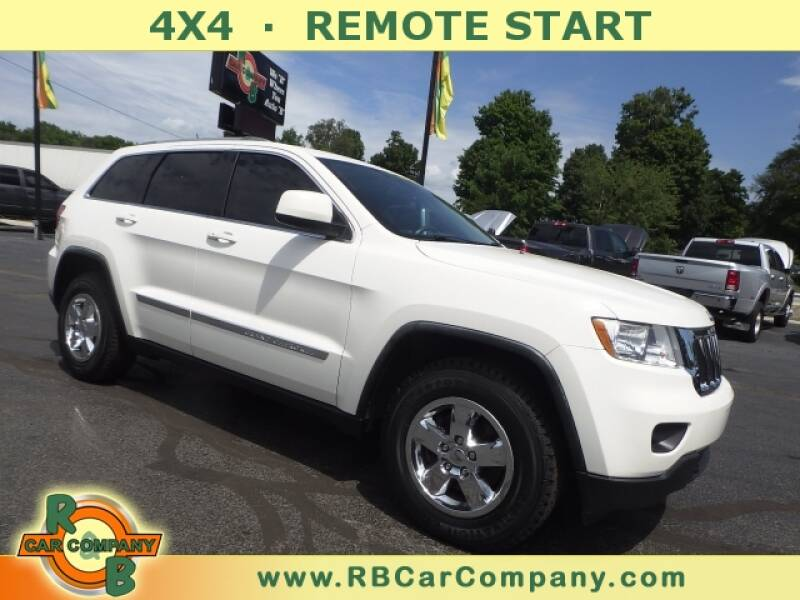 2011 Jeep Grand Cherokee for sale at R & B CAR CO - R&B CAR COMPANY in Columbia City IN