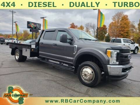 2017 Ford F-550 Super Duty for sale at R & B CAR CO - R&B CAR COMPANY in Columbia City IN