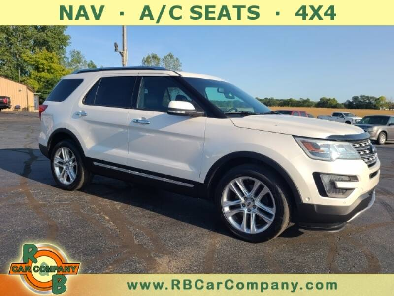 2016 Ford Explorer for sale at R & B CAR CO - R&B CAR COMPANY in Columbia City IN