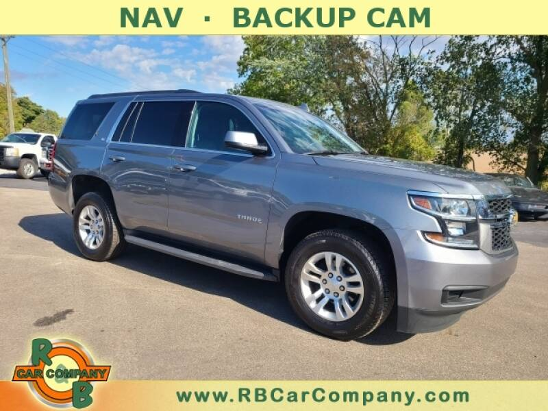 2019 Chevrolet Tahoe for sale at R & B CAR CO - R&B CAR COMPANY in Columbia City IN