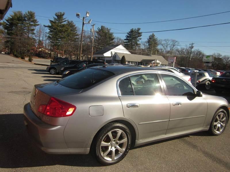 2006 Infiniti G35 AWD x 4dr Sedan - Tewksbury MA