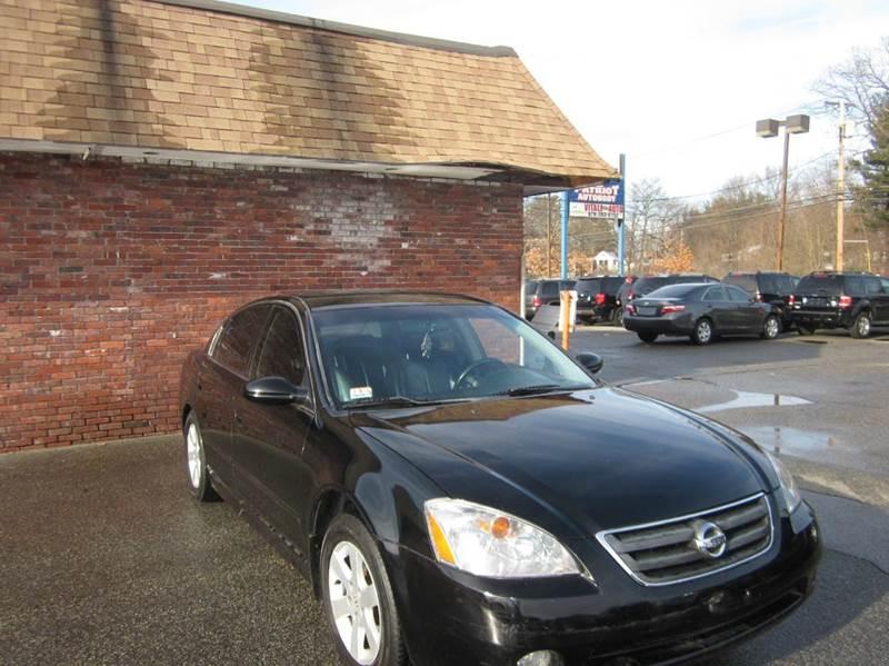 2002 Nissan Altima 2.5 SL 4dr Sedan - Tewksbury MA