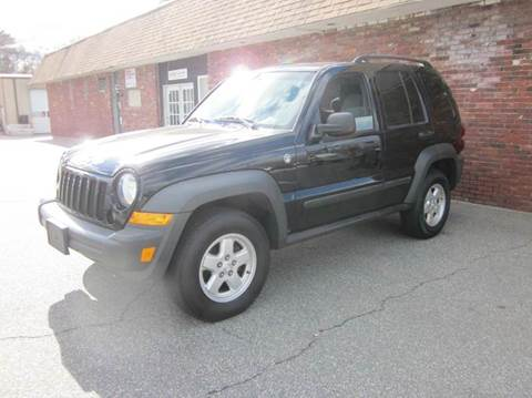 2007 Jeep Liberty for sale at Tewksbury Used Cars in Tewksbury MA