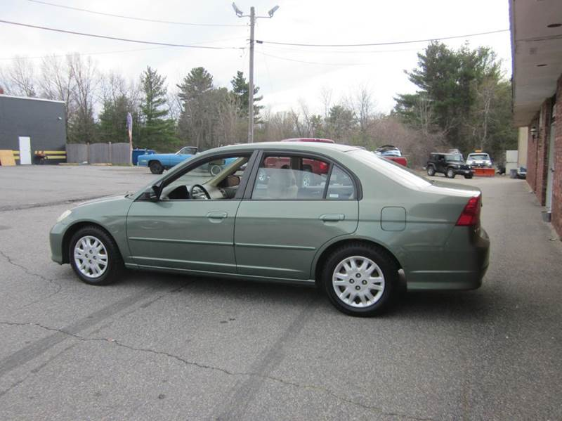 2004 Honda Civic LX 4dr Sedan - Tewksbury MA