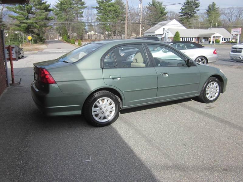 2004 Honda Civic LX 4dr Sedan - Tewksbury MA