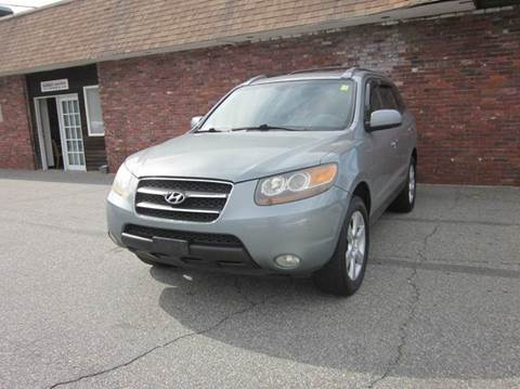 2007 Hyundai Santa Fe for sale at Tewksbury Used Cars in Tewksbury MA