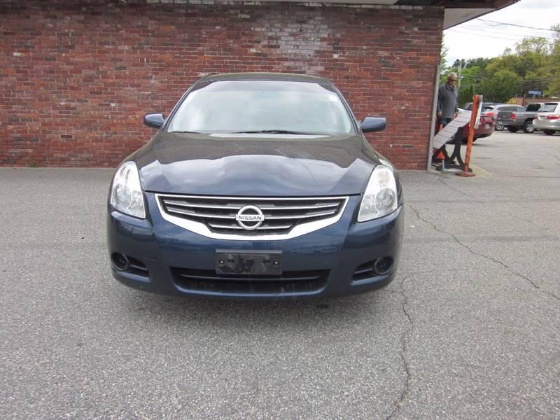 2011 Nissan Altima 2.5 S 4dr Sedan - Tewksbury MA