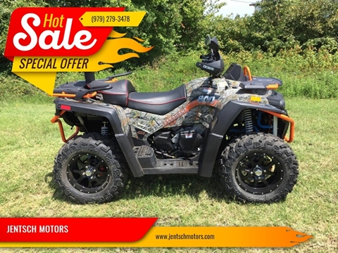 2018 Odes ASSILANT 800 for sale at JENTSCH MOTORS in Hearne TX