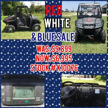 2018 Kymco 450i LE PRIME for sale at JENTSCH MOTORS in Hearne TX