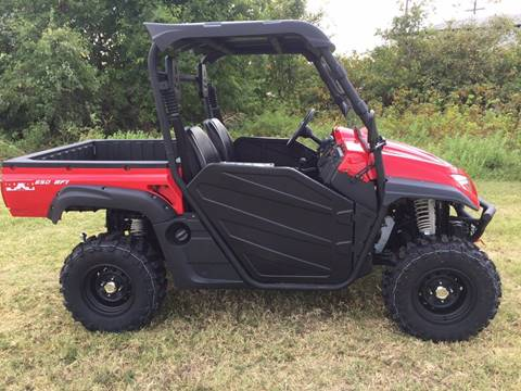 2018 Odes COMRADE 650 LE for sale at JENTSCH MOTORS in Hearne TX