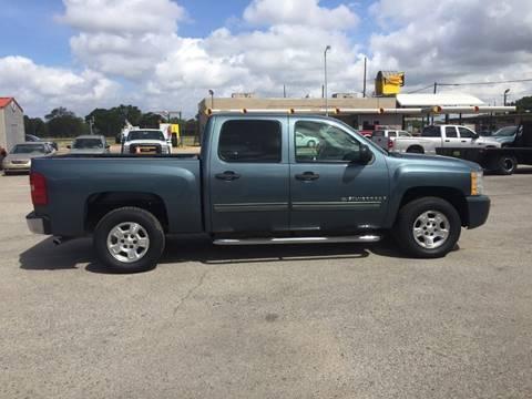 2009 Chevrolet Silverado 1500 for sale at JENTSCH MOTORS in Hearne TX