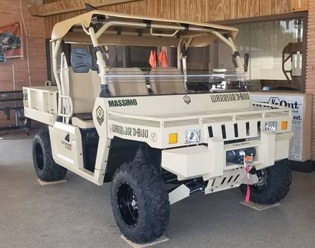 2019 Massimo WARRIOR 800 for sale at JENTSCH MOTORS in Hearne TX
