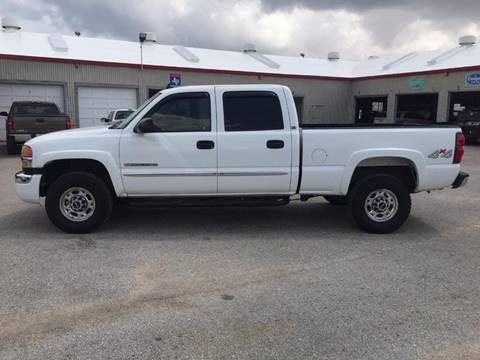 2007 GMC Sierra 2500HD Classic for sale at JENTSCH MOTORS in Hearne TX