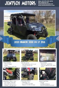 2020 BENNCHE 1000 X4 LT ZEUS for sale at JENTSCH MOTORS in Hearne TX