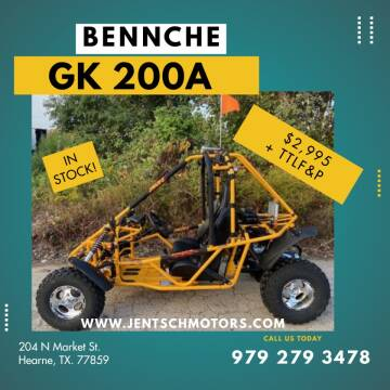 2020 BENNCHE GK 200A for sale at JENTSCH MOTORS in Hearne TX