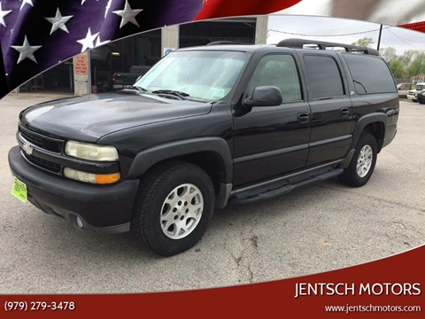 2003 Chevrolet Suburban for sale at JENTSCH MOTORS in Hearne TX