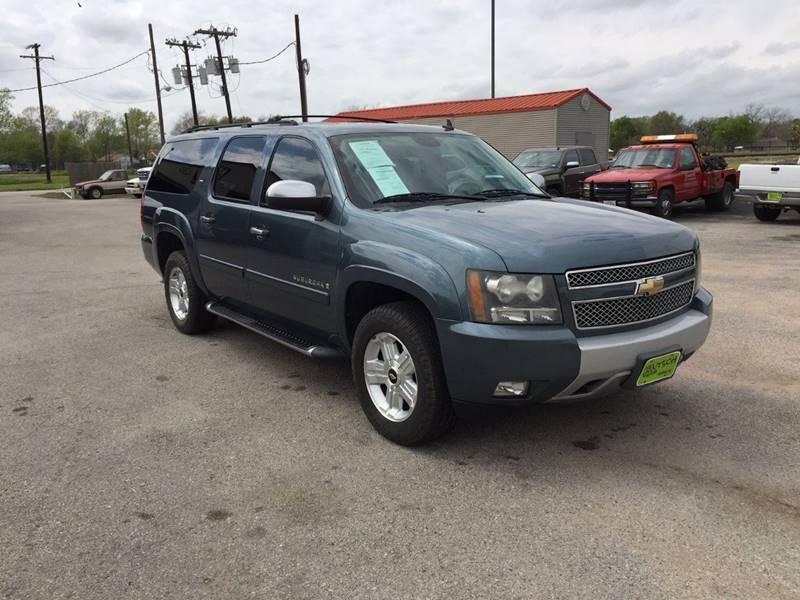 2008 Chevrolet Suburban for sale at JENTSCH MOTORS in Hearne TX