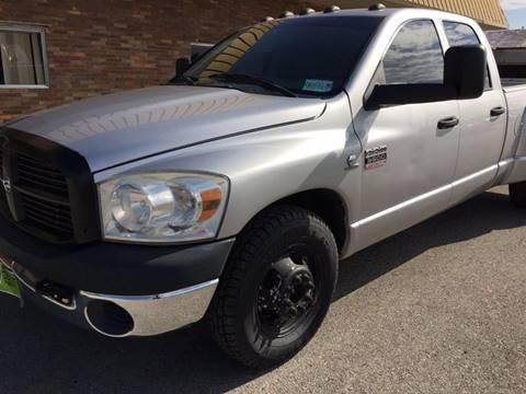 2007 Dodge Ram Pickup 3500 for sale at JENTSCH MOTORS in Hearne TX