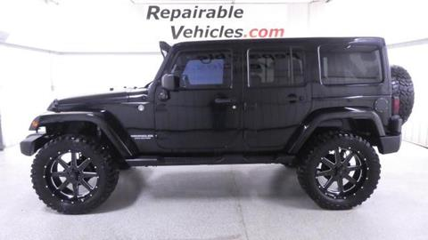 2012 Jeep Wrangler Unlimited for sale in Harrisburg, SD